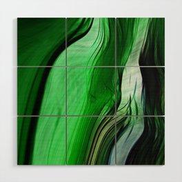 Liquid Grass Wood Wall Art