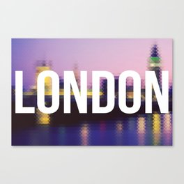 London - Cityscape Canvas Print