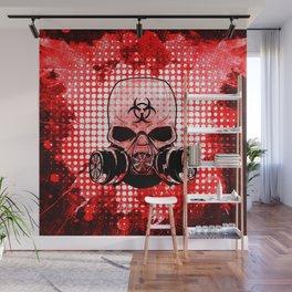 Guerrilla Bio-Hazard Warrior Wall Mural