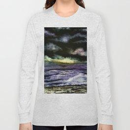 Lavender Waves Long Sleeve T-shirt