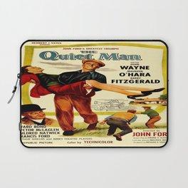 Vintage poster - The Quiet Man Laptop Sleeve