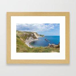Man O'War, Dorset Framed Art Print