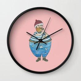 Sauveur le Navigateur Wall Clock
