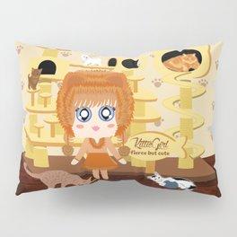 Kittie Girl Pillow Sham