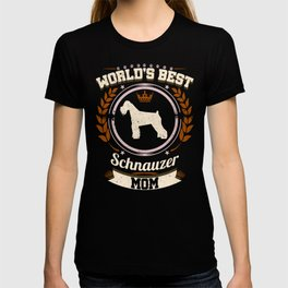 World's Best Schnauzer Mom T-shirt