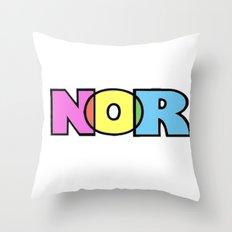 nor Throw Pillow