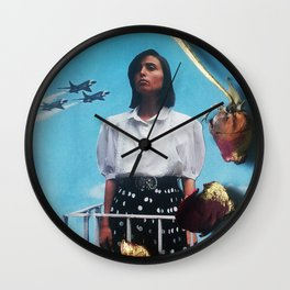 The Only Crime I Ever Committed (Was Being a Woman) Wall Clock