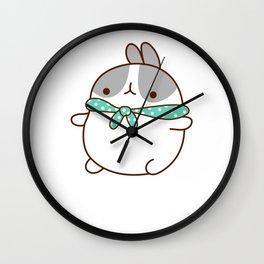 Kawaii Bunny Japanese Anime Japan Wall Clock