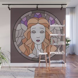 Angel - Stained Glass Wall Mural