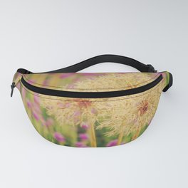 Dandelion and lavender: Spring is coming Fanny Pack