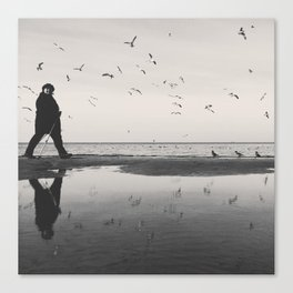 Bird Whisperer Canvas Print