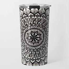 Sand Dollar-Black Travel Mug