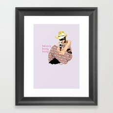 Beauty Bang Bang Framed Art Print