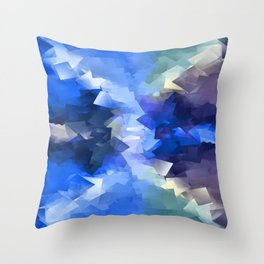 (Caught) In the Crossfire Throw Pillow