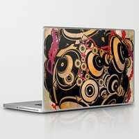 dragon ball Laptop & iPad Skins featuring ball by echo3005