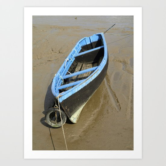 Stuck in the mud Art Print