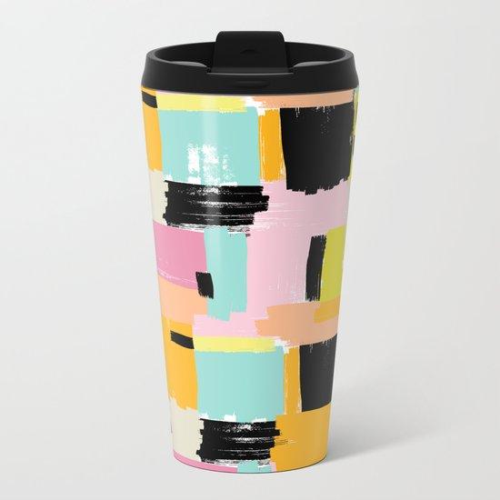 Color section001 Metal Travel Mug