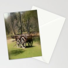 Wagon Wheels Stationery Cards