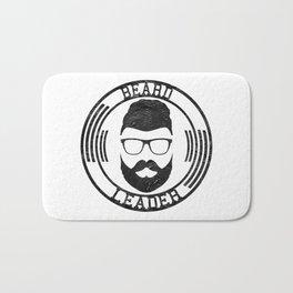 Beard leader Bath Mat