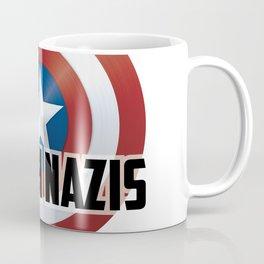 Punch Nazis Coffee Mug