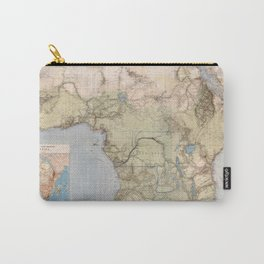 1885 Vintage Map of Africa Carry-All Pouch