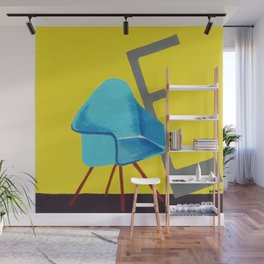 E is for Eames Chair Wall Mural