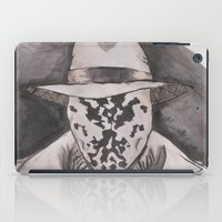 rorschach iPad Cases featuring Rorschach  by Taylor Starnes