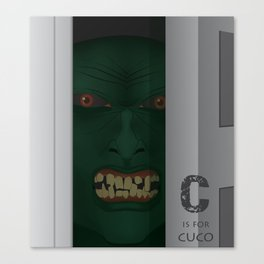 C is for Cuco Canvas Print