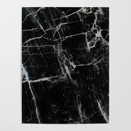 Black Marble Edition 1 Poster