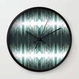 Splashes of Rain Wall Clock