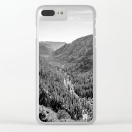 Black & White Arizona Clear iPhone Case