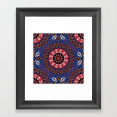 Mandala 70 Framed Art Print