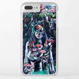 Burial Grounds Clear iPhone Case
