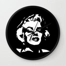 CHRISTMAS GIFTS OF A HOLLYWOOD ICONIC MOVIE STAR ACTRESS Wall Clock