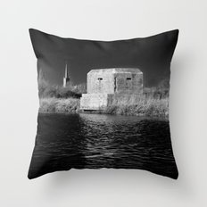 dark times... Throw Pillow
