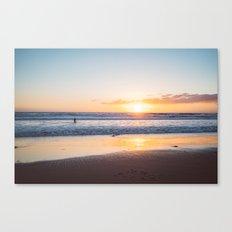 Venice Beach Surfer III Canvas Print