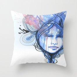 A Quiet Darkness Throw Pillow