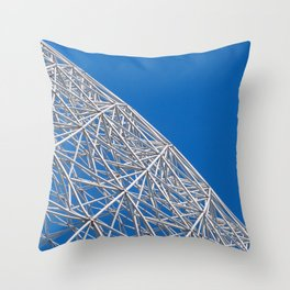 Biosphere Mesh Throw Pillow