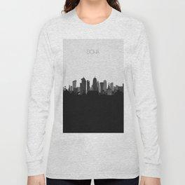 City Skylines: Doha Long Sleeve T-shirt