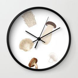 Mushies Wall Clock