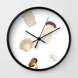 Mushies Wall Clock