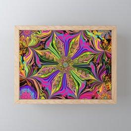 L.A. Flower Drop Framed Mini Art Print