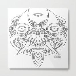 Batty 2 Metal Print