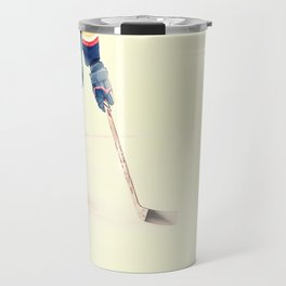 The Sport Of Hockey Travel Mug