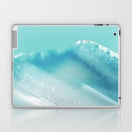 Geode Crystal Turquoise Blue Laptop & iPad Skin
