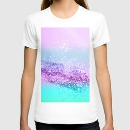 Unicorn Girls Glitter #14 #shiny #decor #art #society6 T-shirt