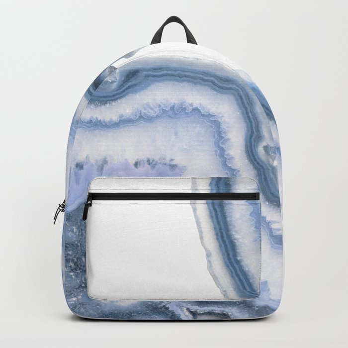 Airy Blue Agate Backpack