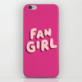 Fangirl in Pink iPhone Skin