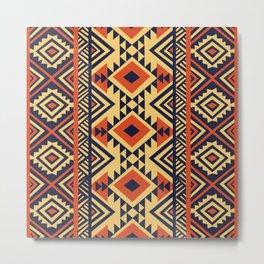 American Native Pattern No. 159 Metal Print