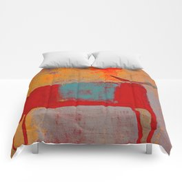 Toro Rojo Comforters